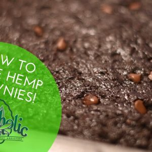 How To Make CBD Infused Hemp Brownies Using FEHO!