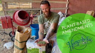 How to Prep A 5 Acre Hemp Field veganic/organically!